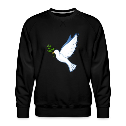 Friedenstaube - Männer Premium Pullover