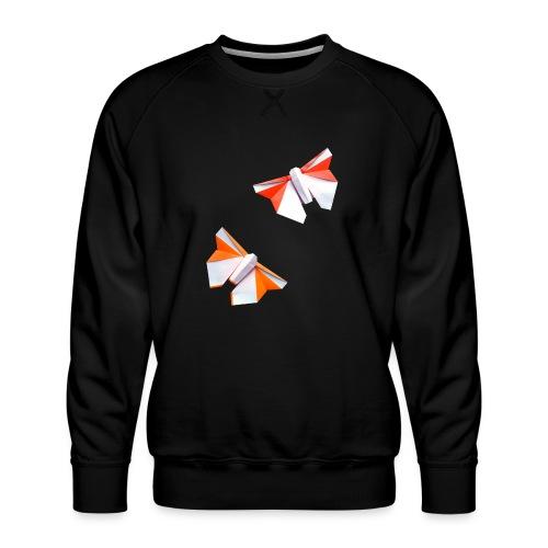 Butterflies Origami - Butterflies - Mariposas - Men's Premium Sweatshirt