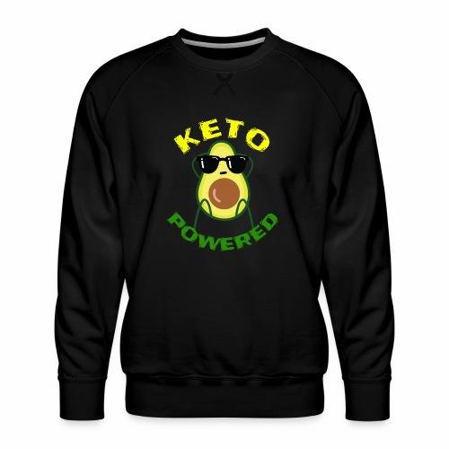Keto powered - Keto Low Carb T-Shirt - Männer Premium Pullover