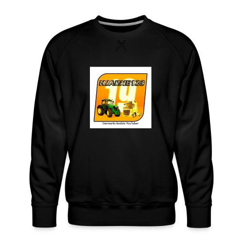 hjarne 123 danmarks bedeste youtuber - Herre premium sweatshirt