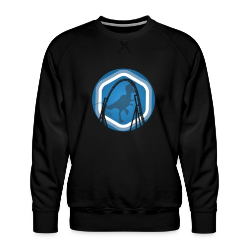 Dino Coaster - Men's Premium Sweatshirt