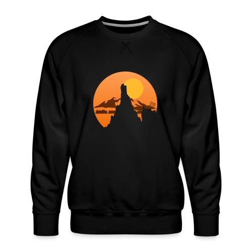 Big Bolt Canyon - Men's Premium Sweatshirt