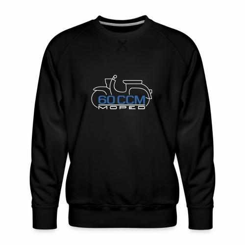 Moped Schwalbe 60 ccm Emblem - Men's Premium Sweatshirt