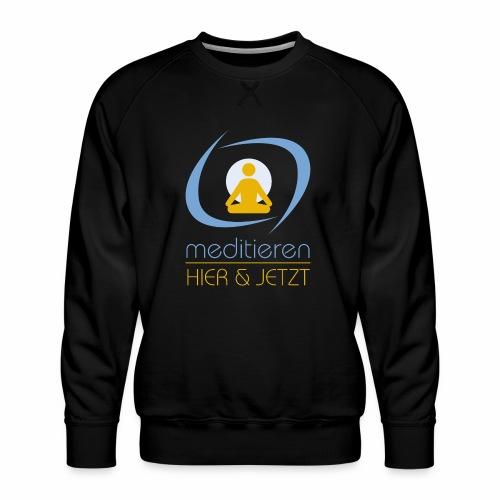 MeditierenHierJetzt.ch - Männer Premium Pullover