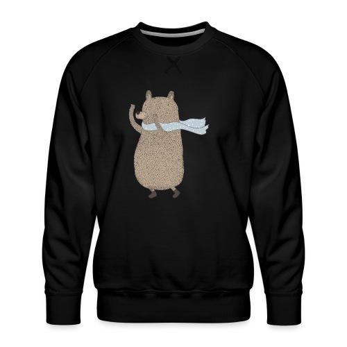 Fluffy Cuddle Bear by #OneCreativeArts - Männer Premium Pullover