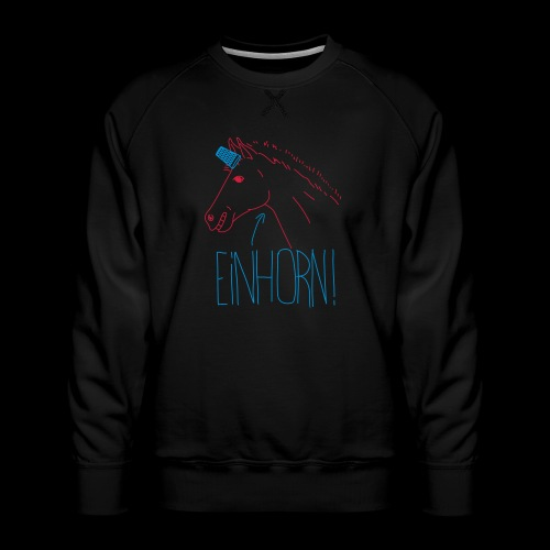 Einhorn - Männer Premium Pullover