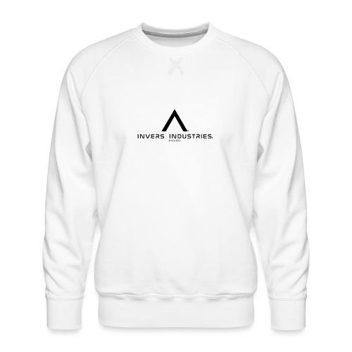Invers Industries Full White - Men's Premium Sweatshirt