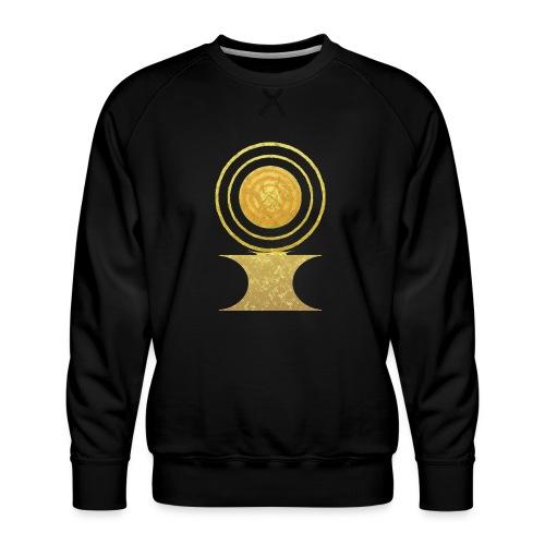 Native America Indianer Symbol Hopi ssl Sonne - Männer Premium Pullover