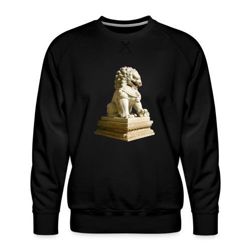 Fu Hund Tempelwächter Wächterlöwe Buddha China - Männer Premium Pullover