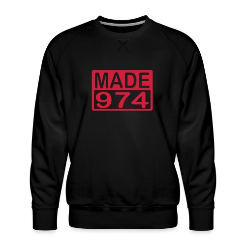 Made 974 - Sweat ras-du-cou Premium Homme