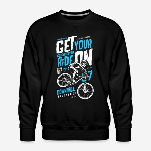 Radfahrer Biker - Männer Premium Pullover