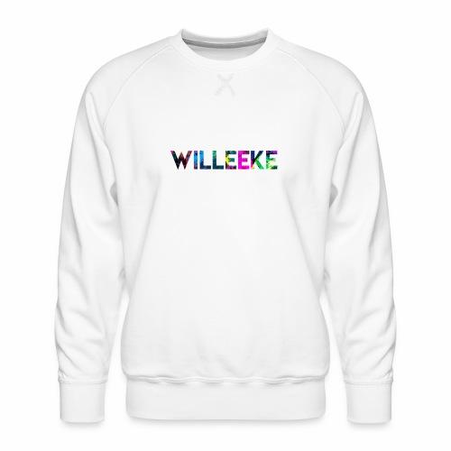 willeeke graffiti whitbar - Premiumtröja herr