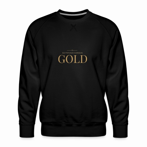Schtephinie Evardson: Ultra Premium Gold Edition - Men's Premium Sweatshirt