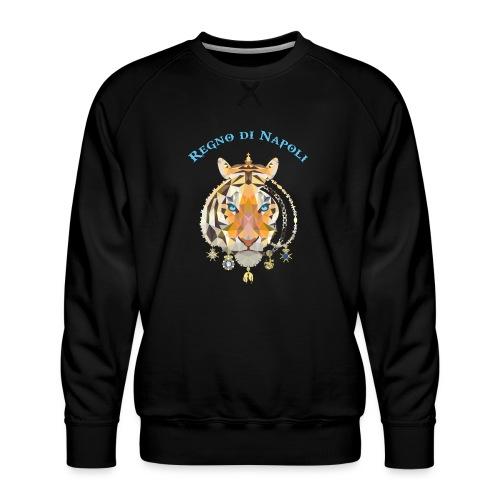 regno di napoli tigre - Felpa premium da uomo