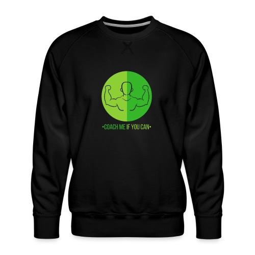 Muscle Vert - Sweat ras-du-cou Premium Homme
