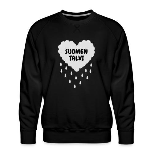 Suomen talvi - Miesten premium-collegepaita