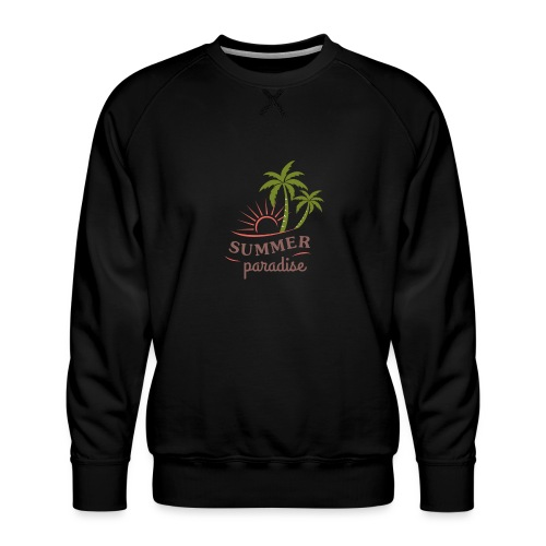 Summer paradise - Men's Premium Sweatshirt