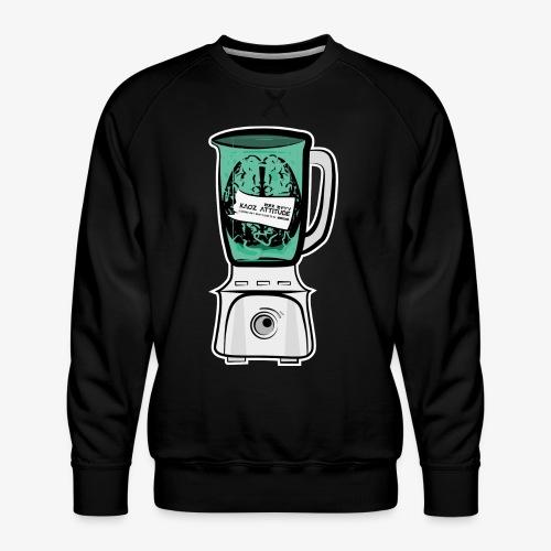 Hirn im Mixer - Männer Premium Pullover
