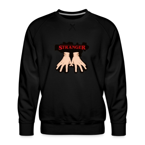 Stranger 'Addams Family' Things - Men's Premium Sweatshirt