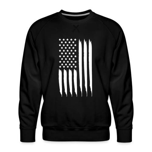 EEUU flag - Sudadera premium para hombre