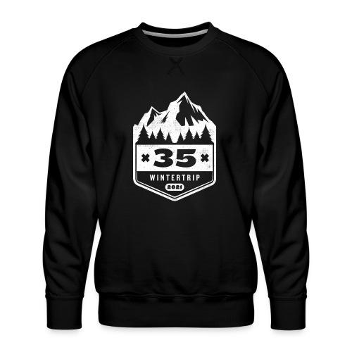 35 ✕ WINTERTRIP ✕ 2021 - Mannen premium sweater