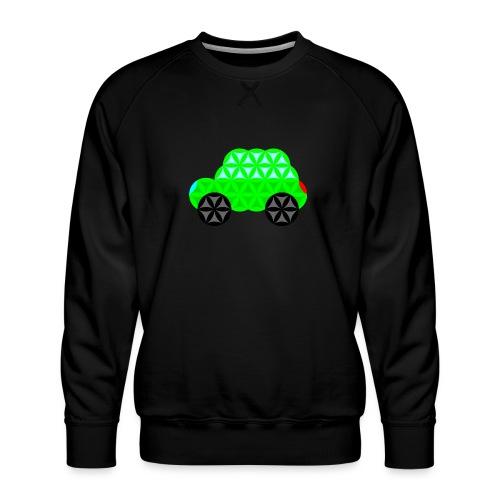 The Car Of Life - M01, Sacred Shapes, Green/R01. - Men's Premium Sweatshirt