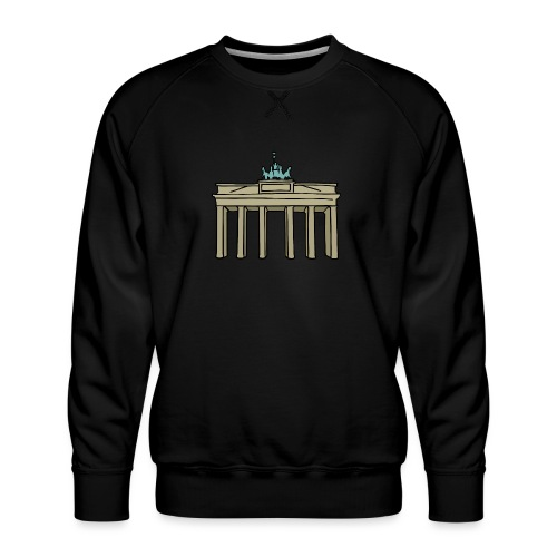 Brama Brandenburska BERLIN c - Bluza męska Premium