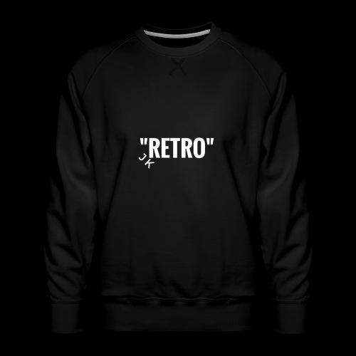 retro - Men's Premium Sweatshirt