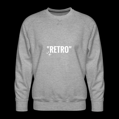 retro - Men's Premium Sweatshirt