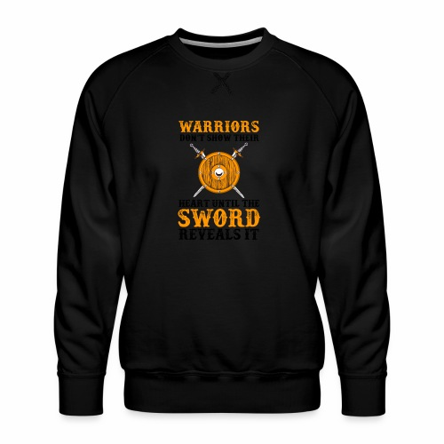 Warrior Feelings - Miesten premium-collegepaita