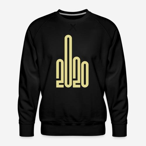 covid corona 2020 - Männer Premium Pullover
