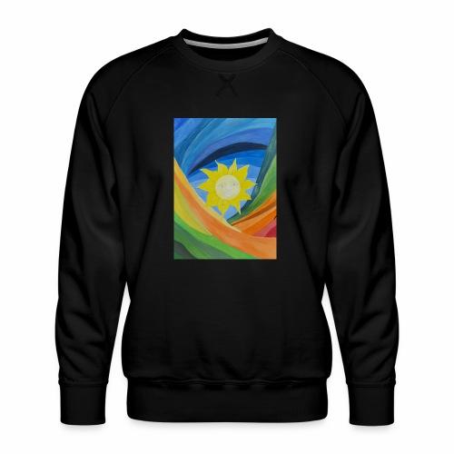 lachende-sonne - Männer Premium Pullover