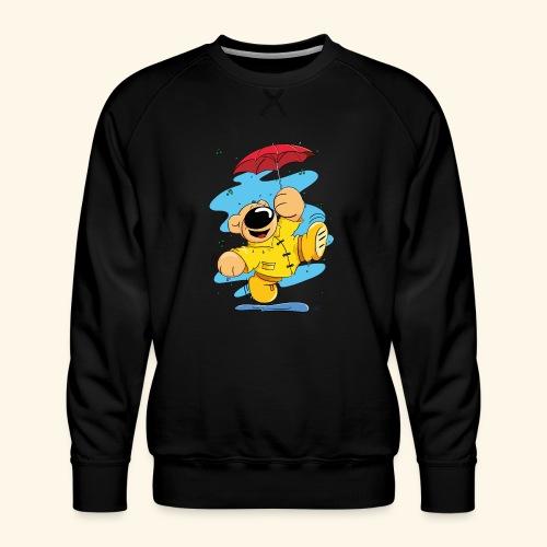 Der Bär tanzt im Regen - Männer Premium Pullover