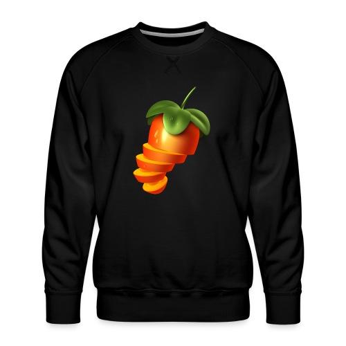 Sliced Sweaty Fruit - Men's Premium Sweatshirt