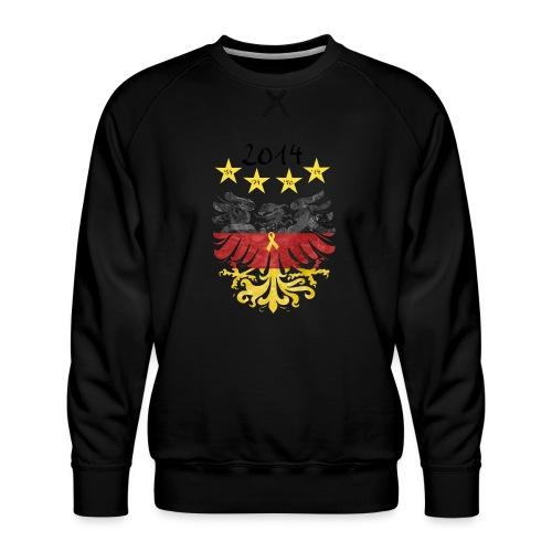 Gelbe Schleife - Männer Premium Pullover