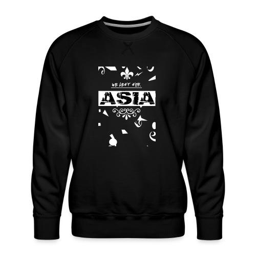 BACK 2 3 png - Mannen premium sweater