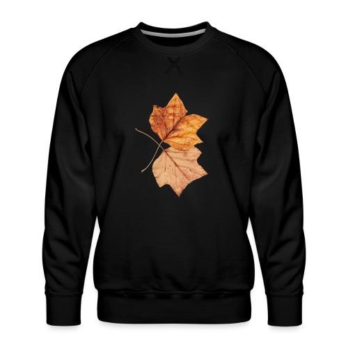 Blätter - Männer Premium Pullover