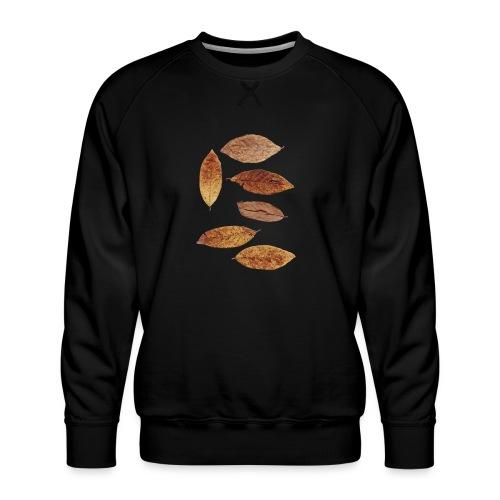 Bunte Blätter - Männer Premium Pullover