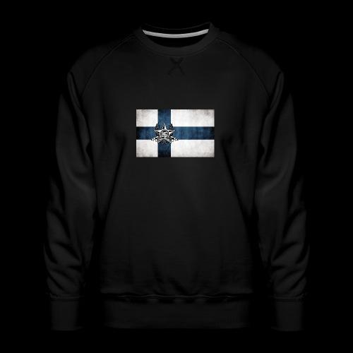 Suomen lippu - Miesten premium-collegepaita