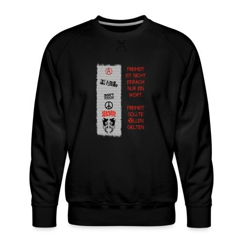 FREIHEIT - Männer Premium Pullover