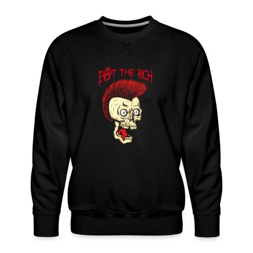 Eat The Rich (For Dark Shirts) - Männer Premium Pullover