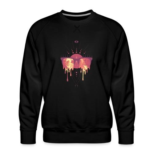 summer png - Herre premium sweatshirt