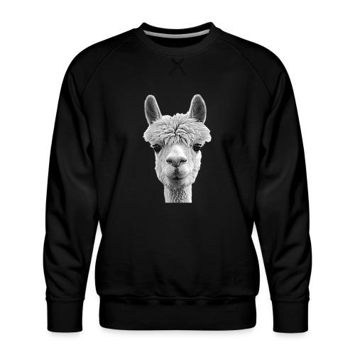 Alpaka Lama Kamel Peru Anden Südamerika Wolle - Männer Premium Pullover