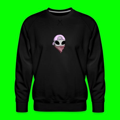 gangsta alien logo - Felpa premium da uomo