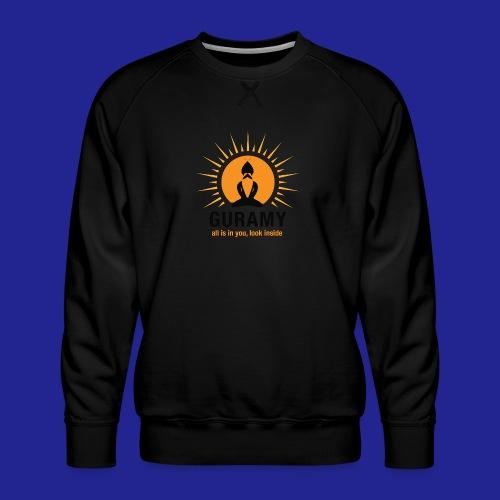 final nero con scritta - Men's Premium Sweatshirt