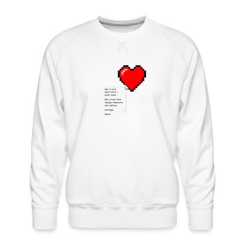 Options of the heart - Herre premium sweatshirt
