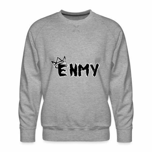Enmy Grey Sweatshirt - Men's Premium Sweatshirt