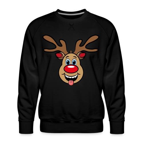 UGLY XMAS - Reindeer Rudi - Männer Premium Pullover
