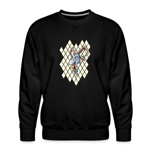 blauer bock - Männer Premium Pullover