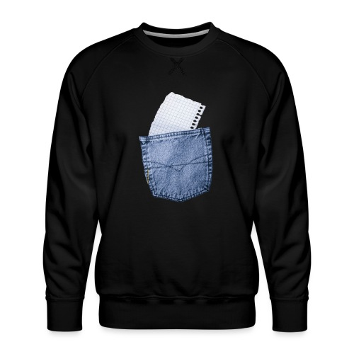 Jeans Baggy by #OneCreativeArts - Männer Premium Pullover